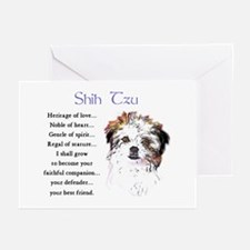 Shih Tzu Greeting Cards (Pk of 10)