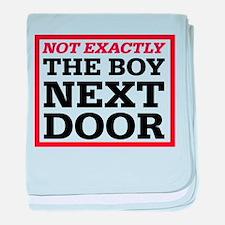 Dexter: Boy Next Door baby blanket