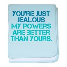 LOST Hurley Powers Quote baby blanket