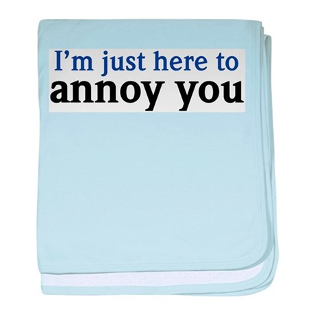 Annoy You baby blanket