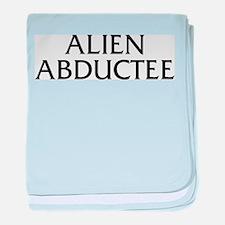 Alien Abductee baby blanket
