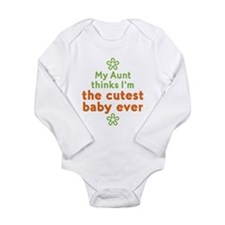 Cutest Baby Ever Long Sleeve Infant Bodysuit