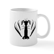 Mantis Shrimp, Spearer Silhouette Mug