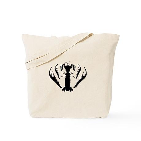 Mantis Shrimp, Spearer Silhouette Tote Bag