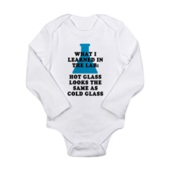 Lab Glass Long Sleeve Infant Bodysuit