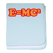E=MC2 baby blanket