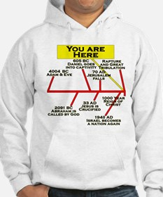 """You Are Here"" Jumper Hoody"