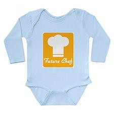 Future Chef Long Sleeve Infant Bodysuit