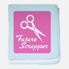 Future Scrapper baby blanket