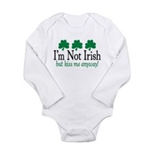 I'm Not Irish Long Sleeve Infant Bodysuit