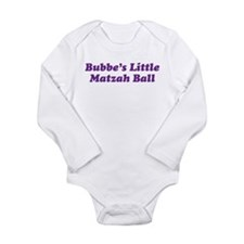 Little Matzah Ball Long Sleeve Infant Bodysuit