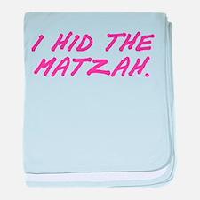 Matzah Pink baby blanket