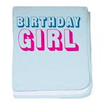 Birthday Girl baby blanket
