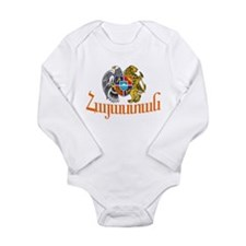 Armenia Long Sleeve Infant Bodysuit