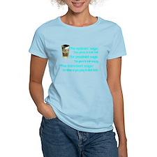 Optimist? Pessimist? Thirstiest. T-Shirt