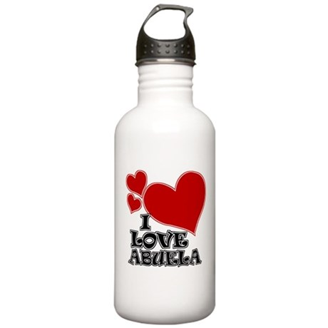 I Love Abuela! Stainless Water Bottle 1.0L