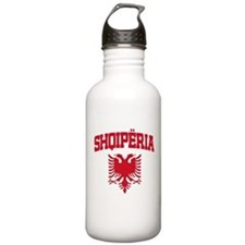 Albania Red Water Bottle