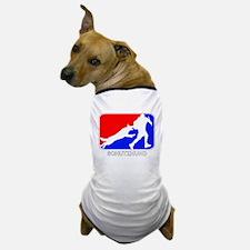 Schutzhund Red and Blue Dog T-Shirt