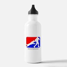 Schutzhund Red and Blue Water Bottle