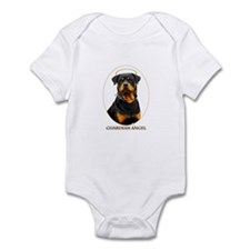 Guardian Angel Rottweiler Infant Bodysuit