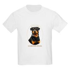 Guardian Angel Rottweiler T-Shirt