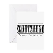 Schutzhund-Canine Perfection Greeting Card