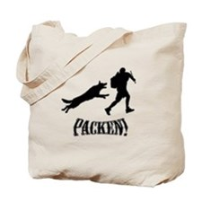 Packen Silhouette Tote Bag