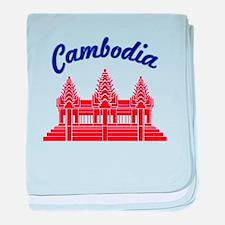 Cambodia Colors baby blanket