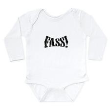 fass Silhouette Long Sleeve Infant Bodysuit