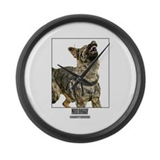 Nice Doggy - Schutzhund Large Wall Clock