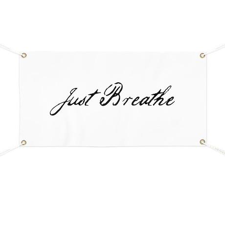 Just Breathe Banner