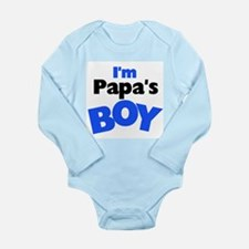 I'm Papa's Boy Long Sleeve Infant Bodysuit