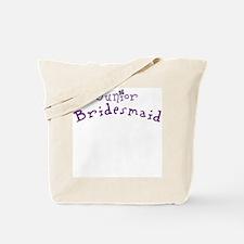 Flower Jr. Bridesmaid Tote Bag