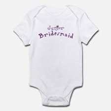 Flower Jr. Bridesmaid Infant Creeper
