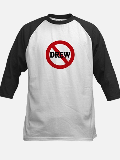 Anti-Drew Kids Baseball Jersey