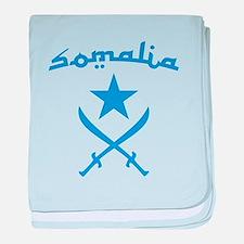 Somali Arabic baby blanket
