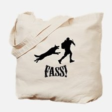 Fass Silhouette Tote Bag