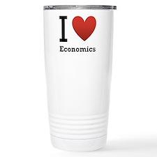 I Love Economics Travel Mug