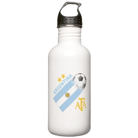 Argentina world cup soccer Stainless Water Bottle