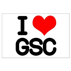 I Love GSC Posters