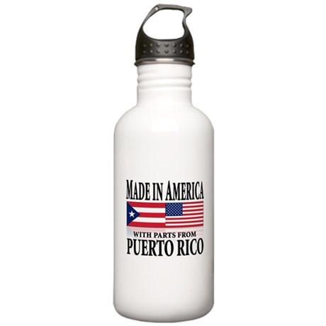 Puerto RICAN Stainless Water Bottle 1.0L