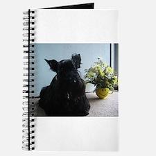 Cute Scottie puppy Journal