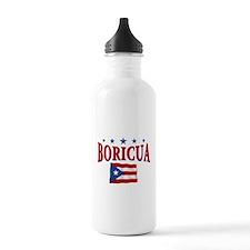 Puerto rican pride Sports Water Bottle