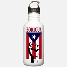 Puerto rican pride Water Bottle