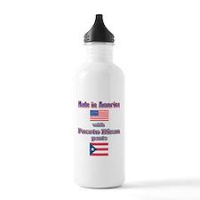 Puerto RICAN Sports Water Bottle