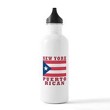 New York Puerto Rican Sports Water Bottle