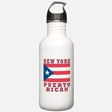 New York Puerto Rican Sports Water Bottle