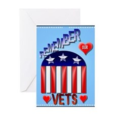 Remember Our Vets Greeting Card