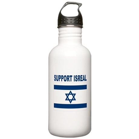 Peace for Isreal Stainless Water Bottle 1.0L