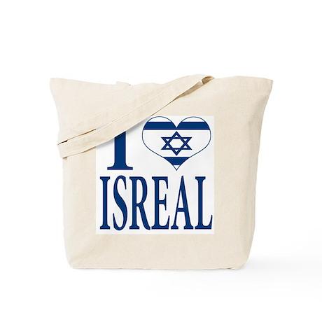 I love Isreal Tote Bag